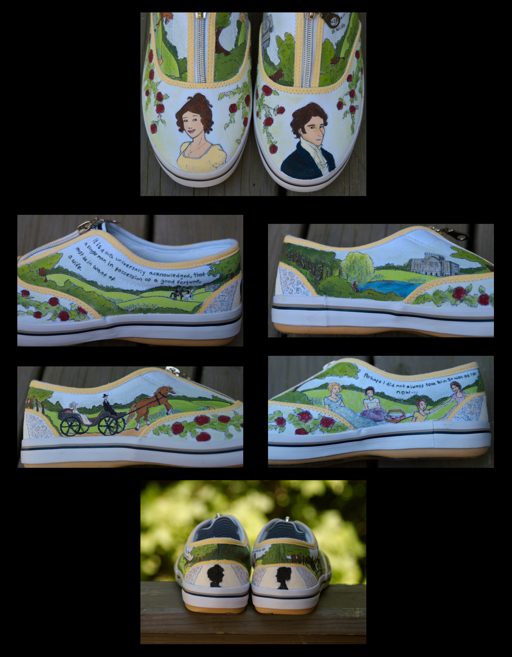 Pride and Prejudice Shoes
