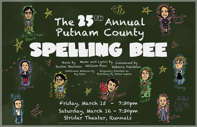 Spelling Bee Poster #2