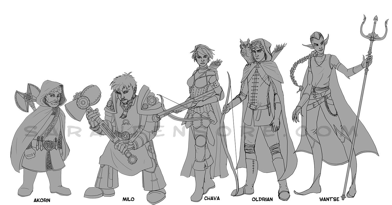 D&D Characters 1