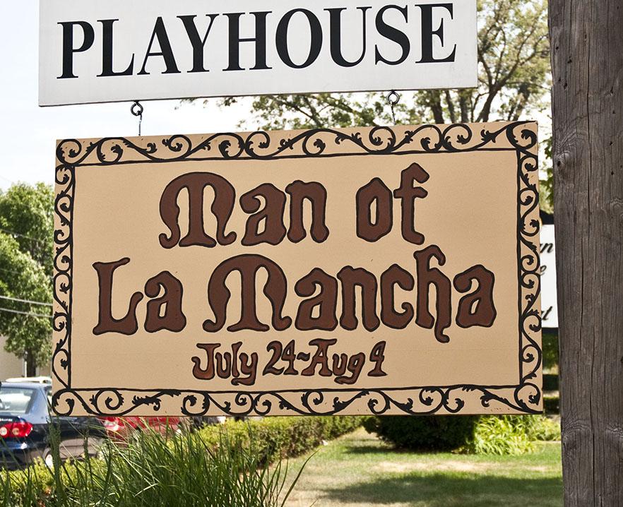Man of La Mancha Sign