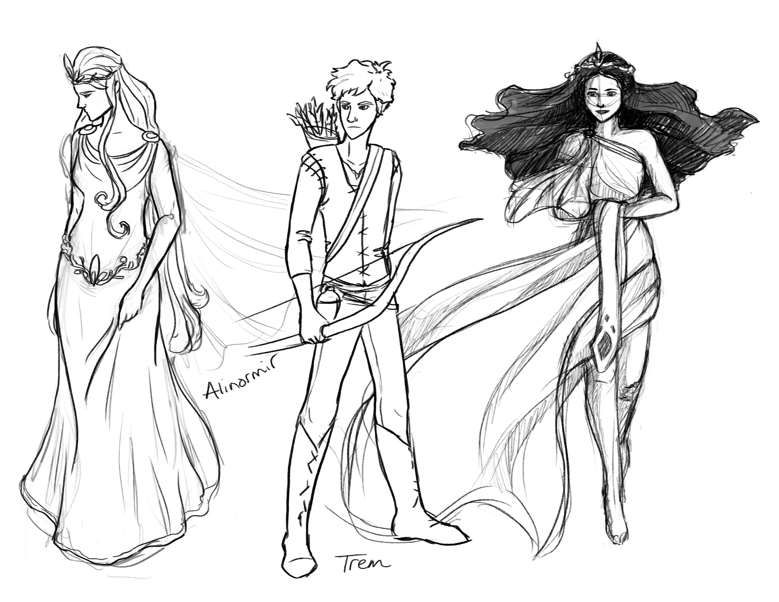 Character Sketches 1