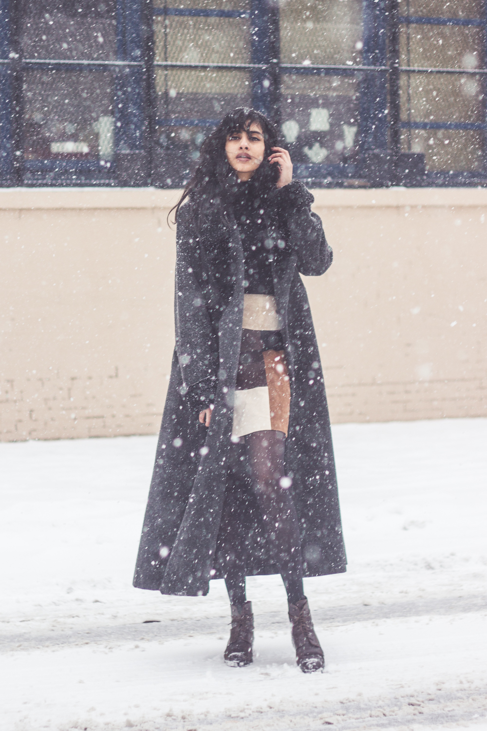 snowstorm outfit