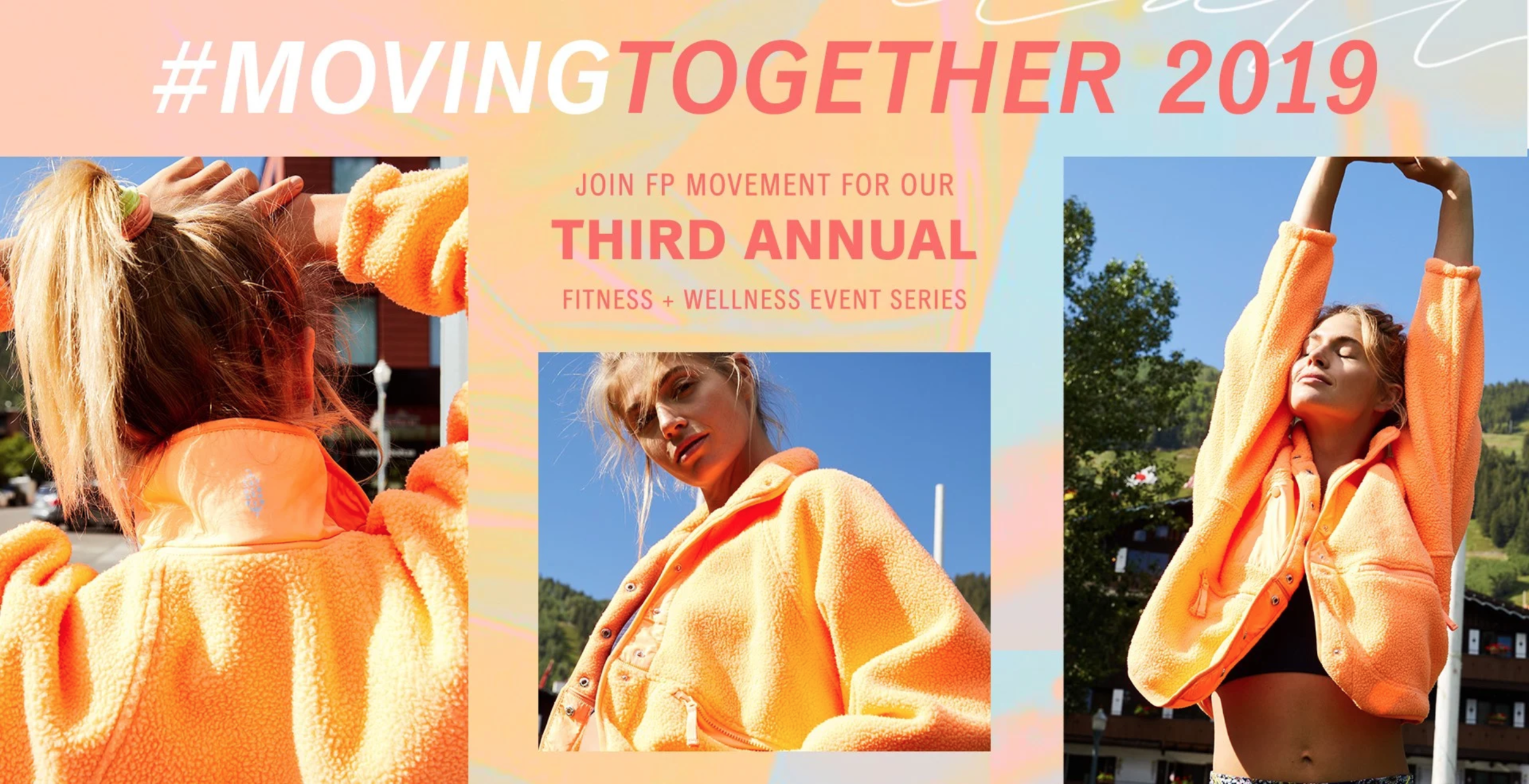 free people moving together event