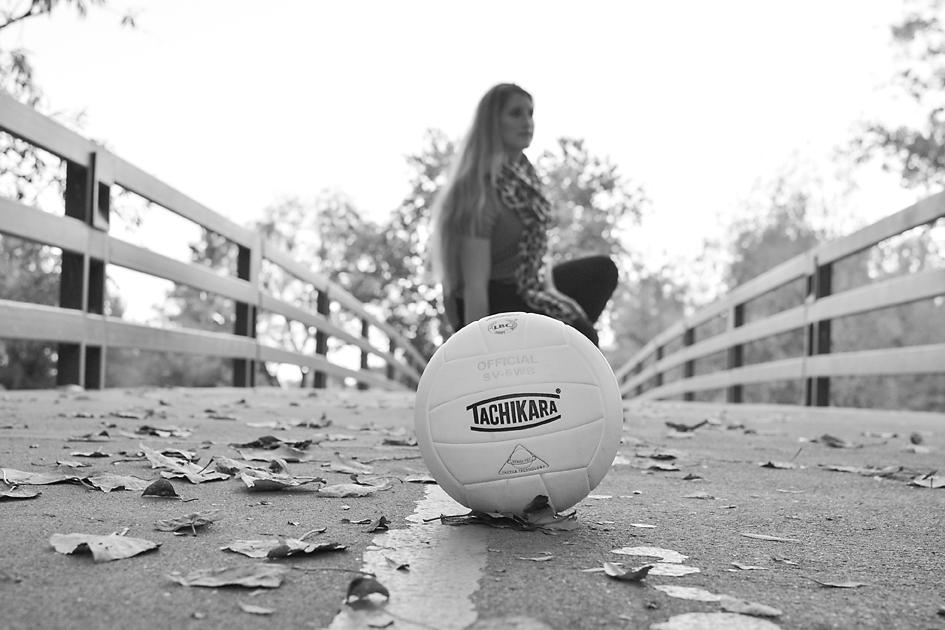 senior portrait volleyball boise idaho