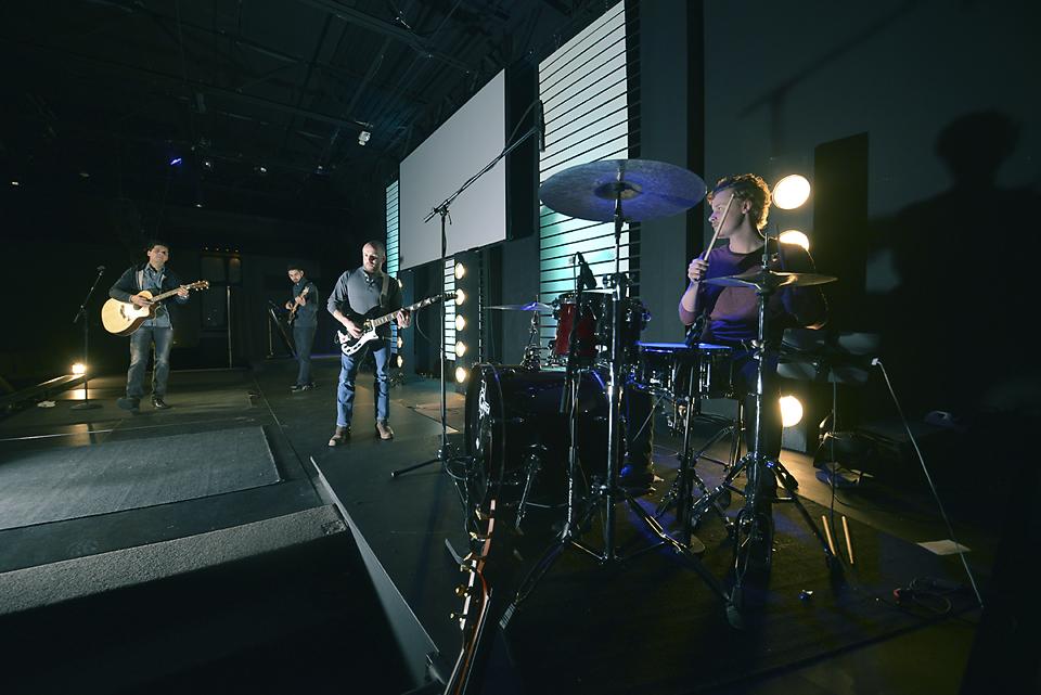 Lamp in the Dark Drummer Josh Solts