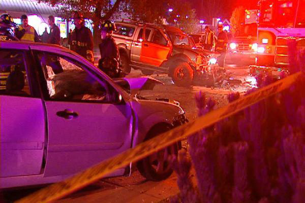 car accident scene of sunnie lynne