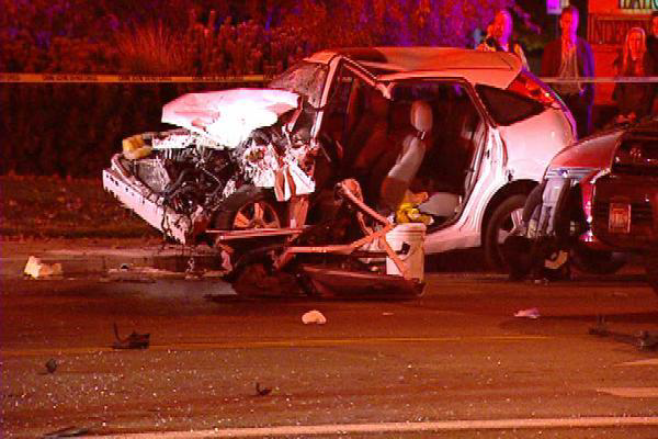 car accident scene sunnie lynne