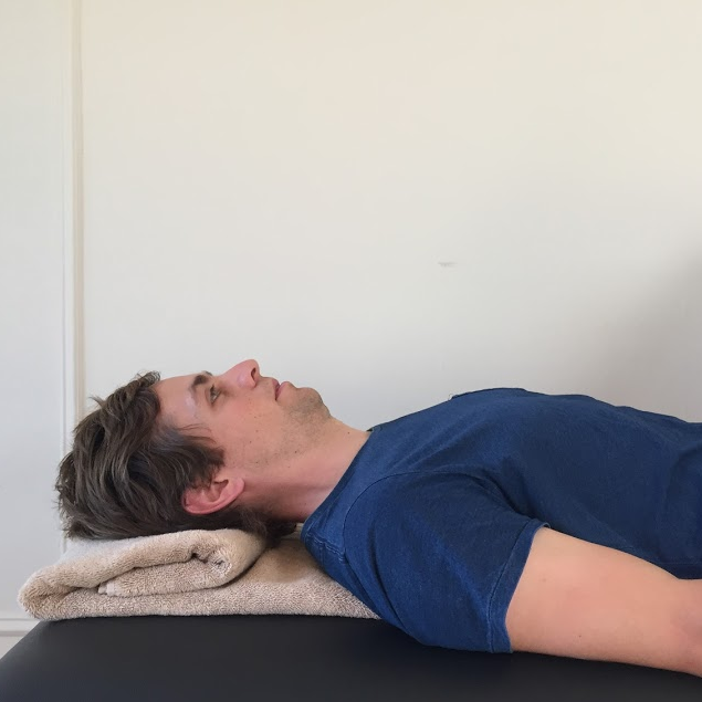 DCNF end position (supine)