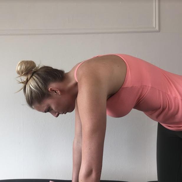 Thoracic flexion