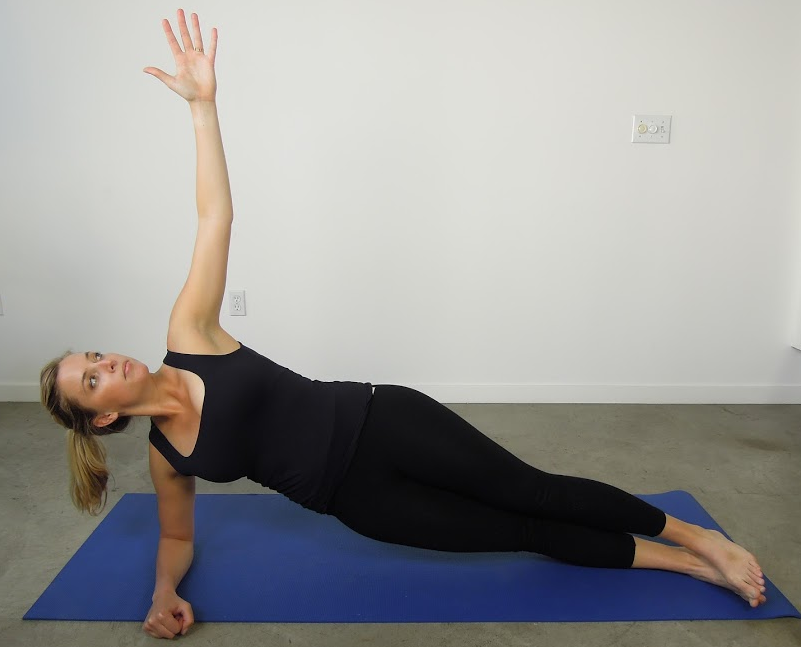 Variations of side plank
