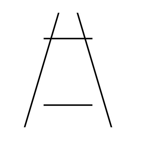 The Ponzo Illusion   https://upload.wikimedia.org/wikipedia/en/8/89/Ponzo_Illusion.jpg
