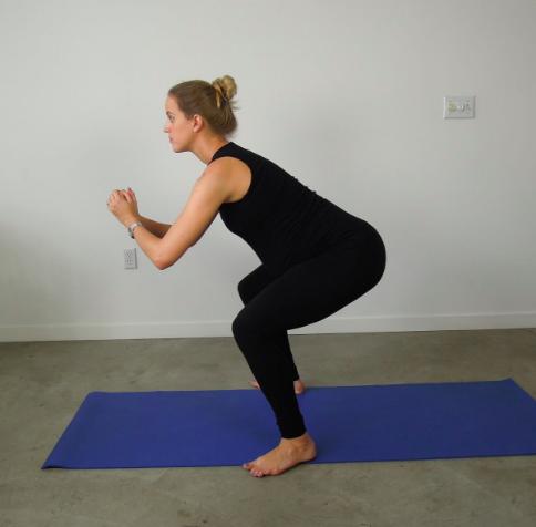 Free standing squat