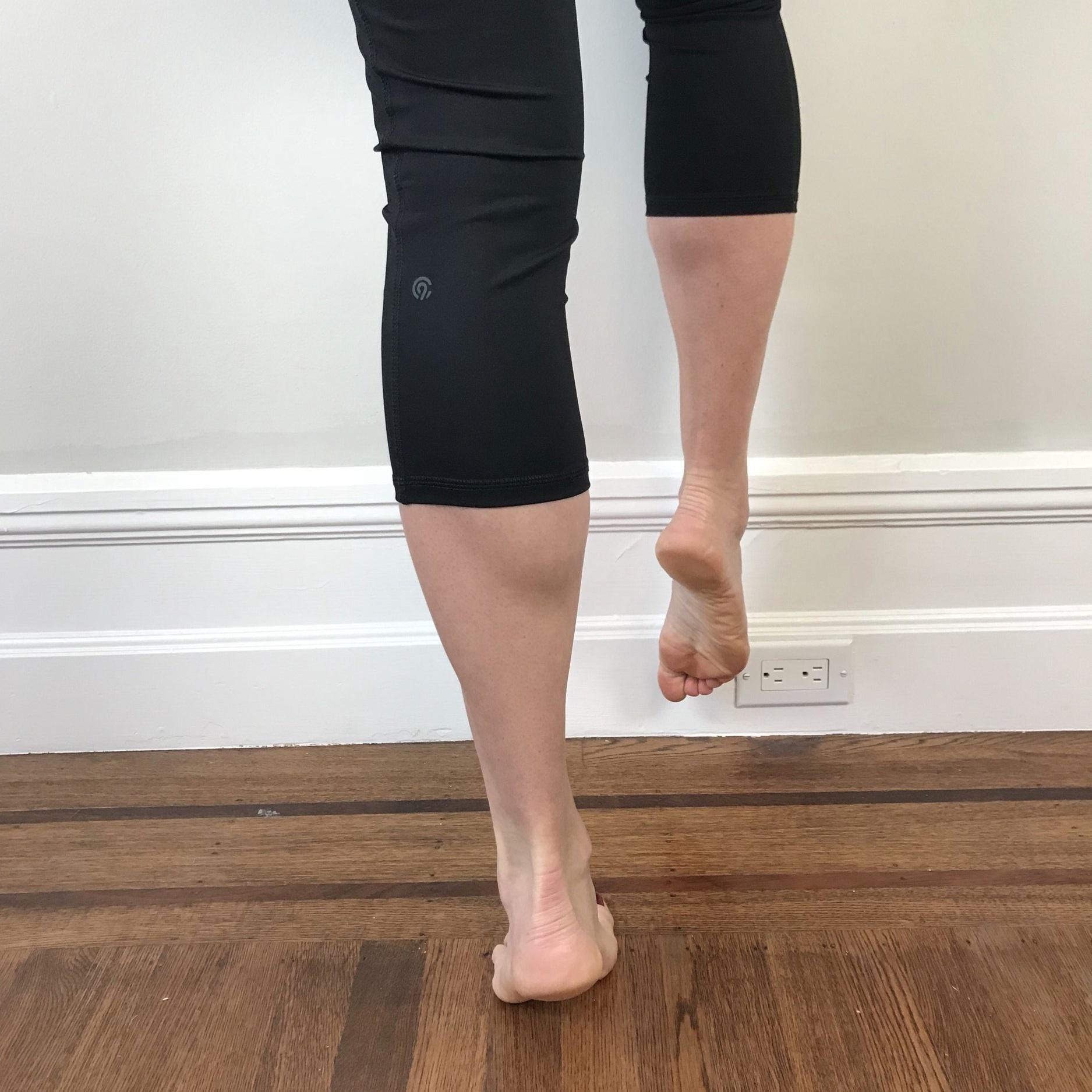 Good single leg calf raise