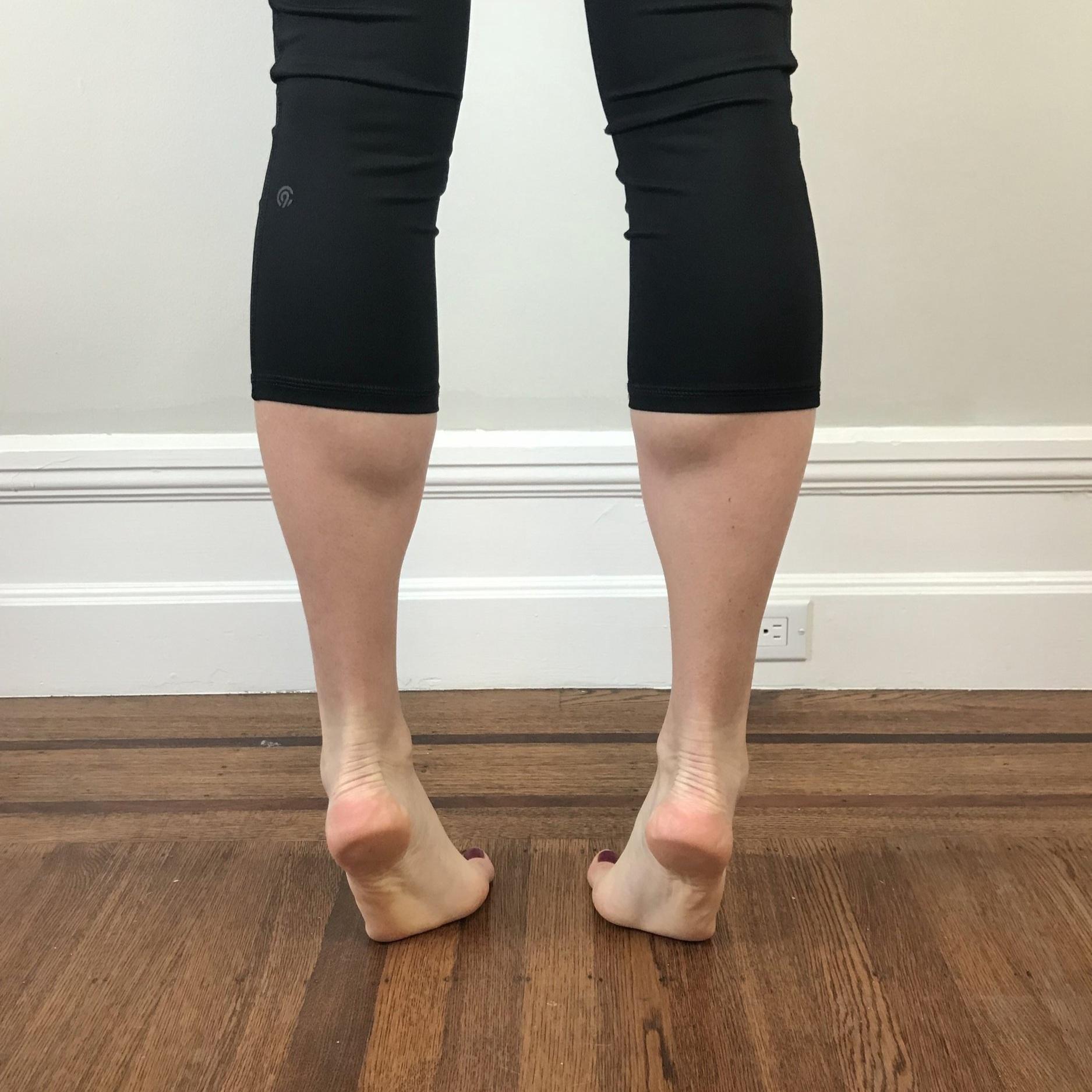 Poor double leg calf raise