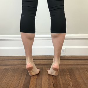 Poor double leg calf raise