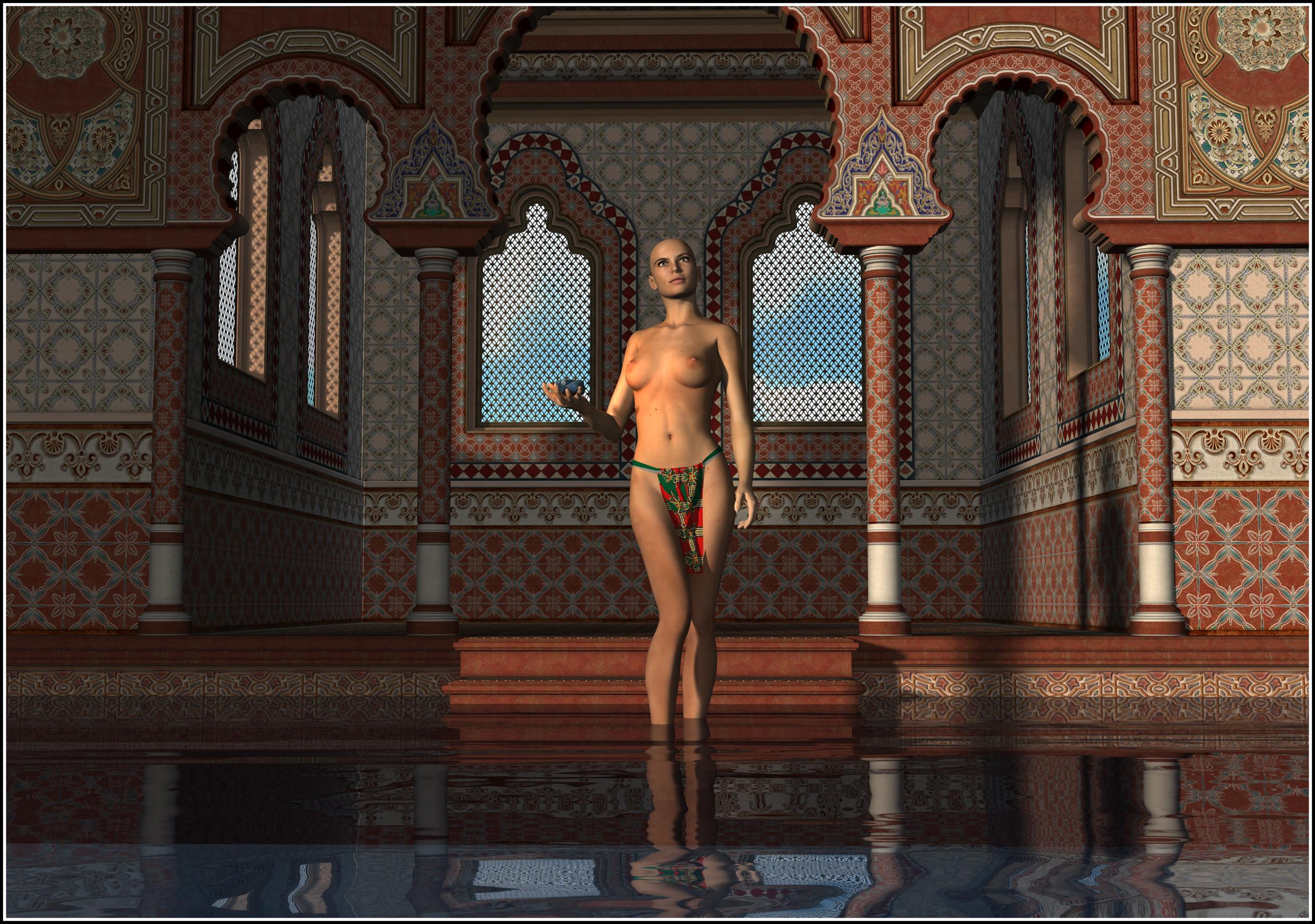 Raffaella-Standing in Water-Temple 01.png
