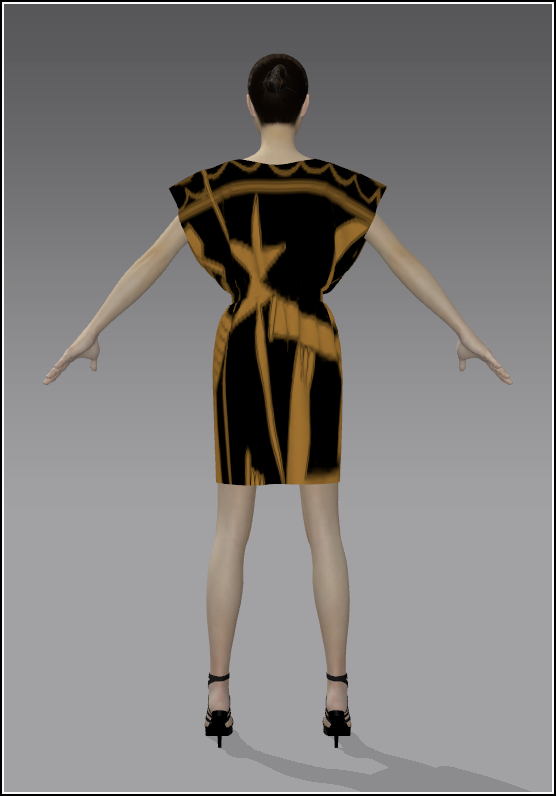 08Simple Skirt Gold 02 Back.png