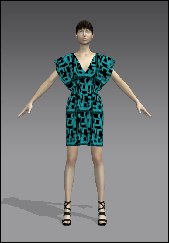 9Simple Skirt Turq 01 Front.png
