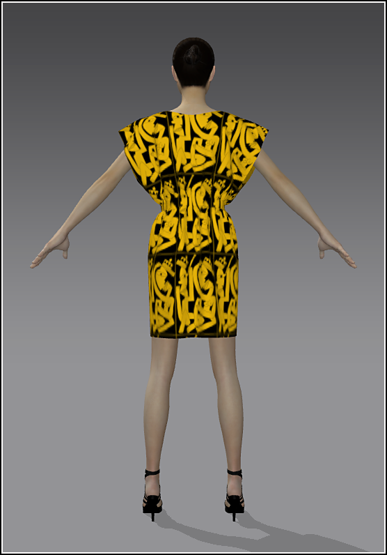 14Simple Skirt YellowGold 01 Back.png