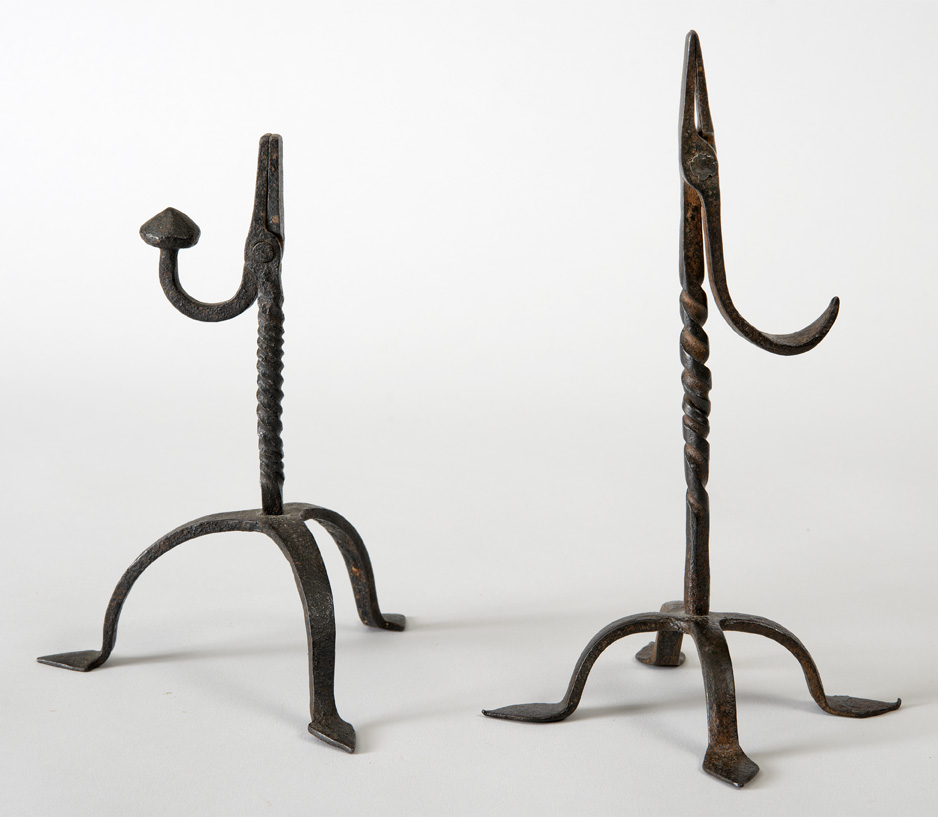 WROUGHT IRON RUSHLIGHT HOLDERS.jpg