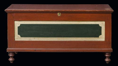 Tricolor Blanket Chest 2