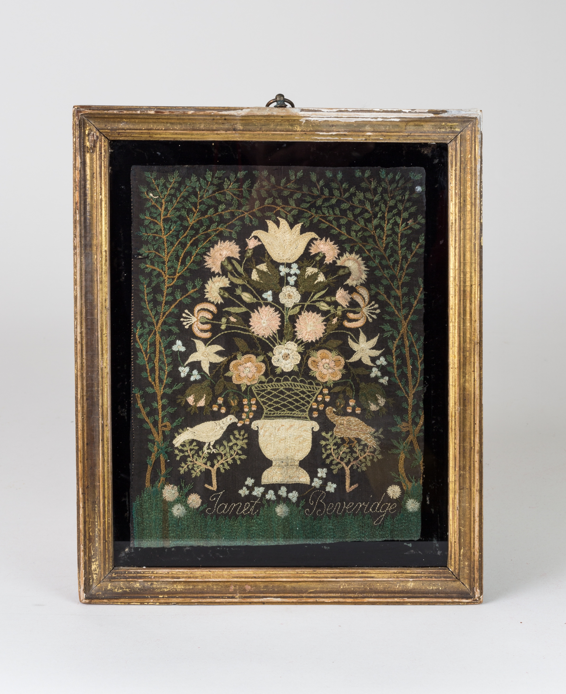 Charming Needlework Picture