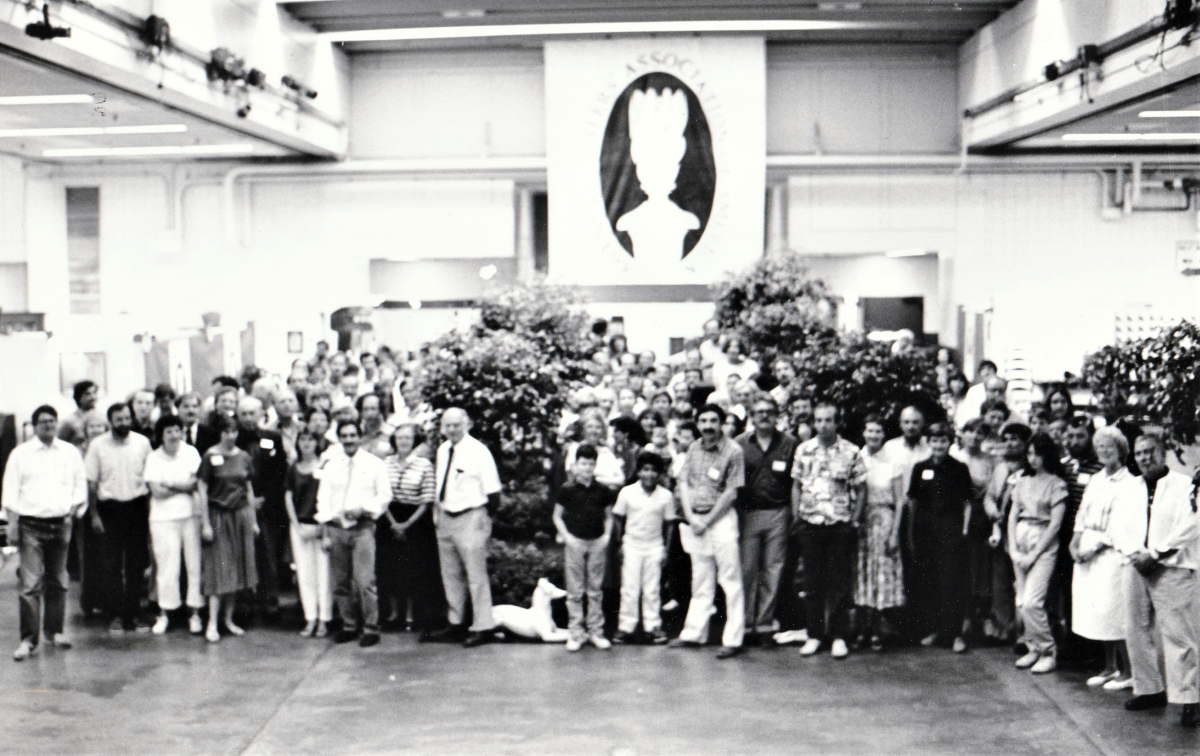 The ADA Antiques Show debuted in July 1985 in Springfield, Mass., with 73 member exhibitors. Can you spot us?