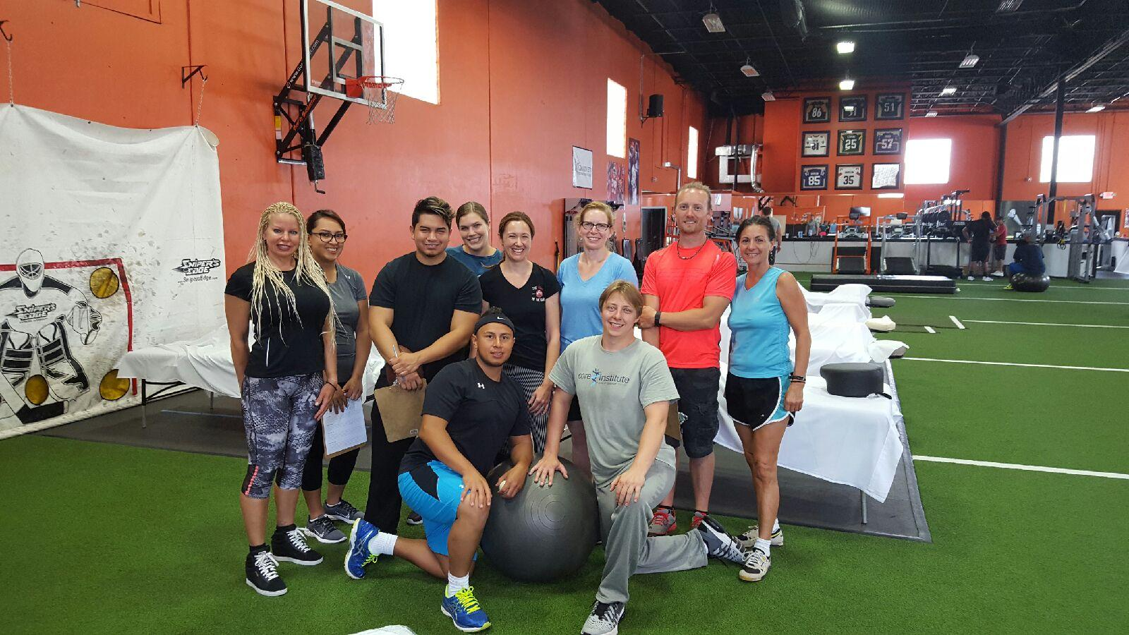 Our group at XPE Sports with Ryan (our teacher/tour guide)