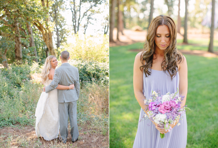 Natural and Organic Oregon Wedding