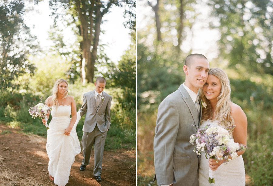 Oregon Wedding Photos in the Woods