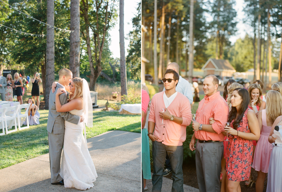Outdoor Oregon Summer Wedding