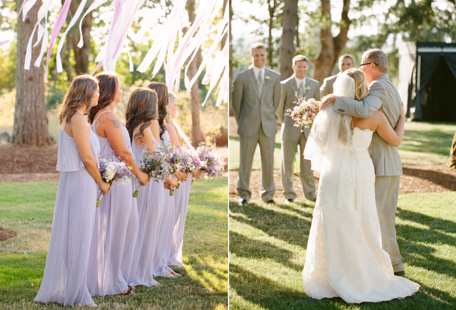 Romantic Oregon Summer Wedding