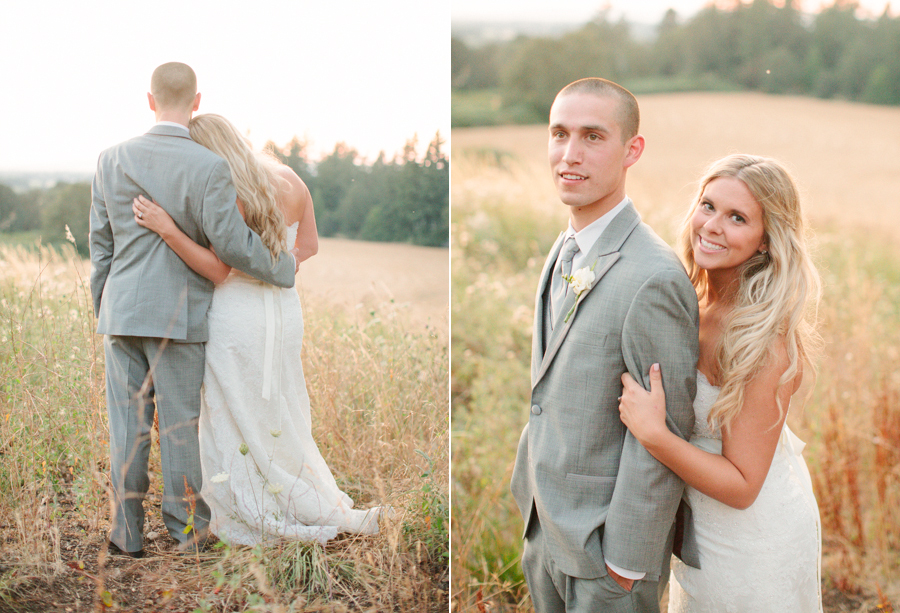 Sunset-Portraits-at-Oregon-Farm-Wedding