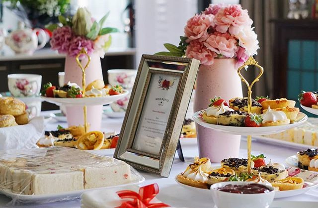 A very exciting few weeks ahead for Dianne as she prepares for her upcoming wedding. We hope you had a lovely day yesterday celebrating your Bridal Shower.  MP x x  #hightea #highteasociety #afternoontea #scones #cheesecake #lemonmeringue #delicious #yum #bridalshower