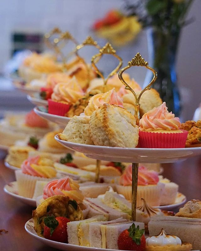Not long now until Laura walks down the isle! We hope you had a lovely day yesterday celebrating your bridal shower. It was so nice to meet you and your family. MP X x  #highteasociety #hightea #afternoontea #cupcakes #quiche #scones #bridalshower #wedding #delicious #yum #foodie