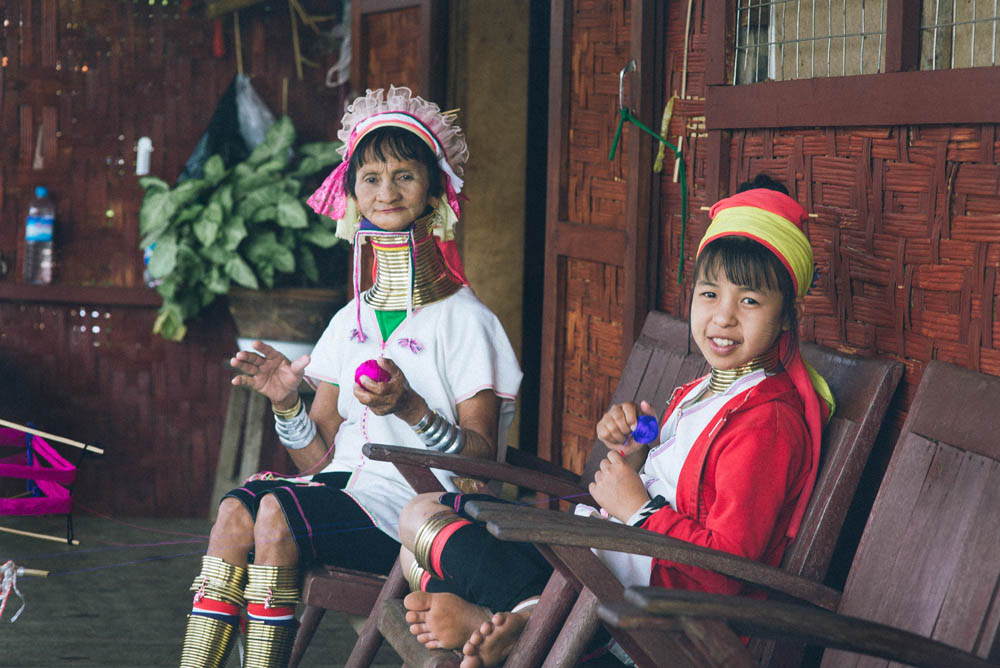 Long neck tradition of Myanmar