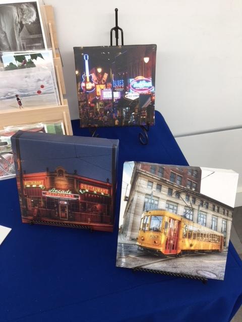 8 x 8 Canvas Memphis Scenes