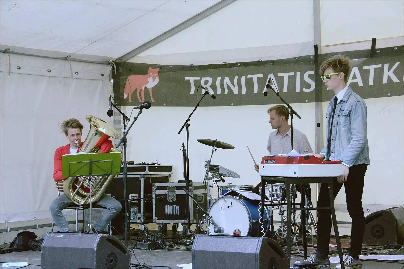 The Roll-Ons @ Trinitatis Natkirke
