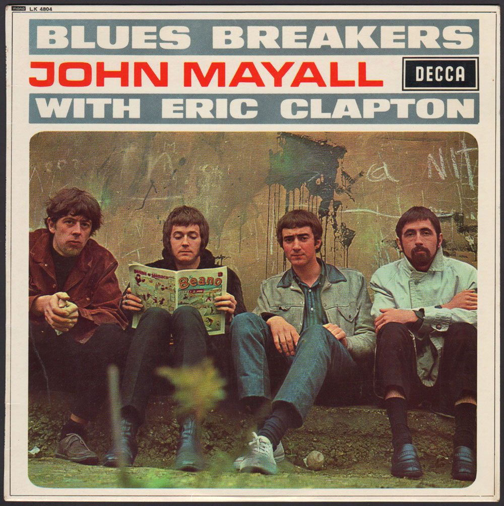 John Mayall《Blues Breakers With Eric Clapton》,1966