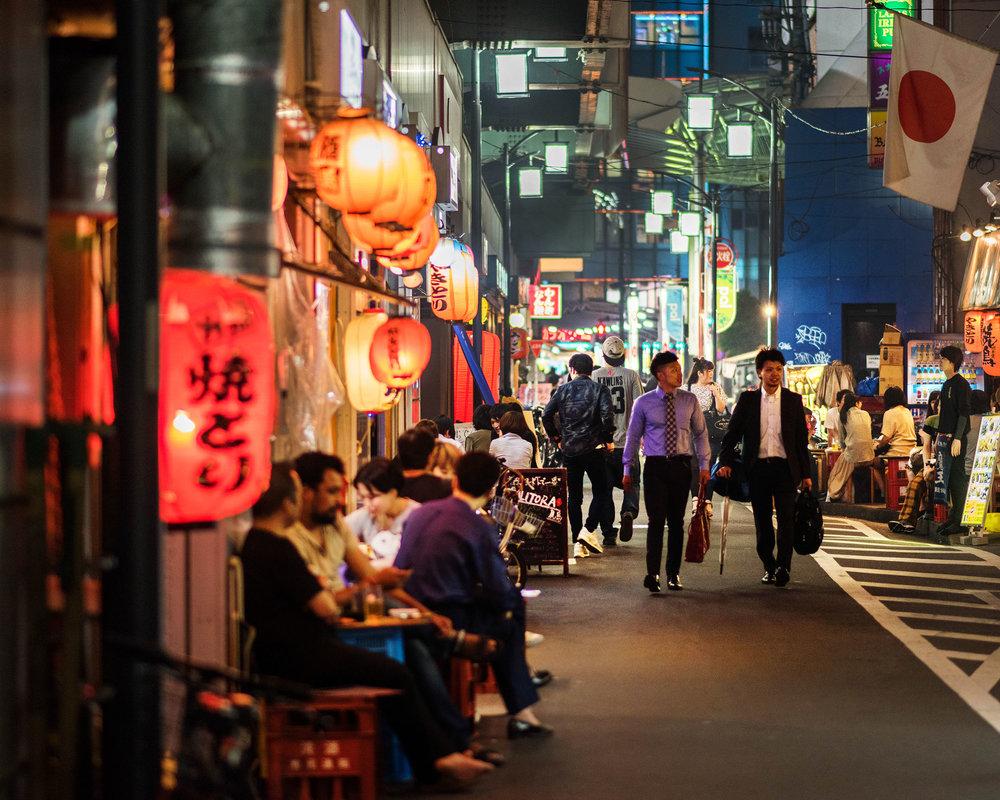 高円寺街景