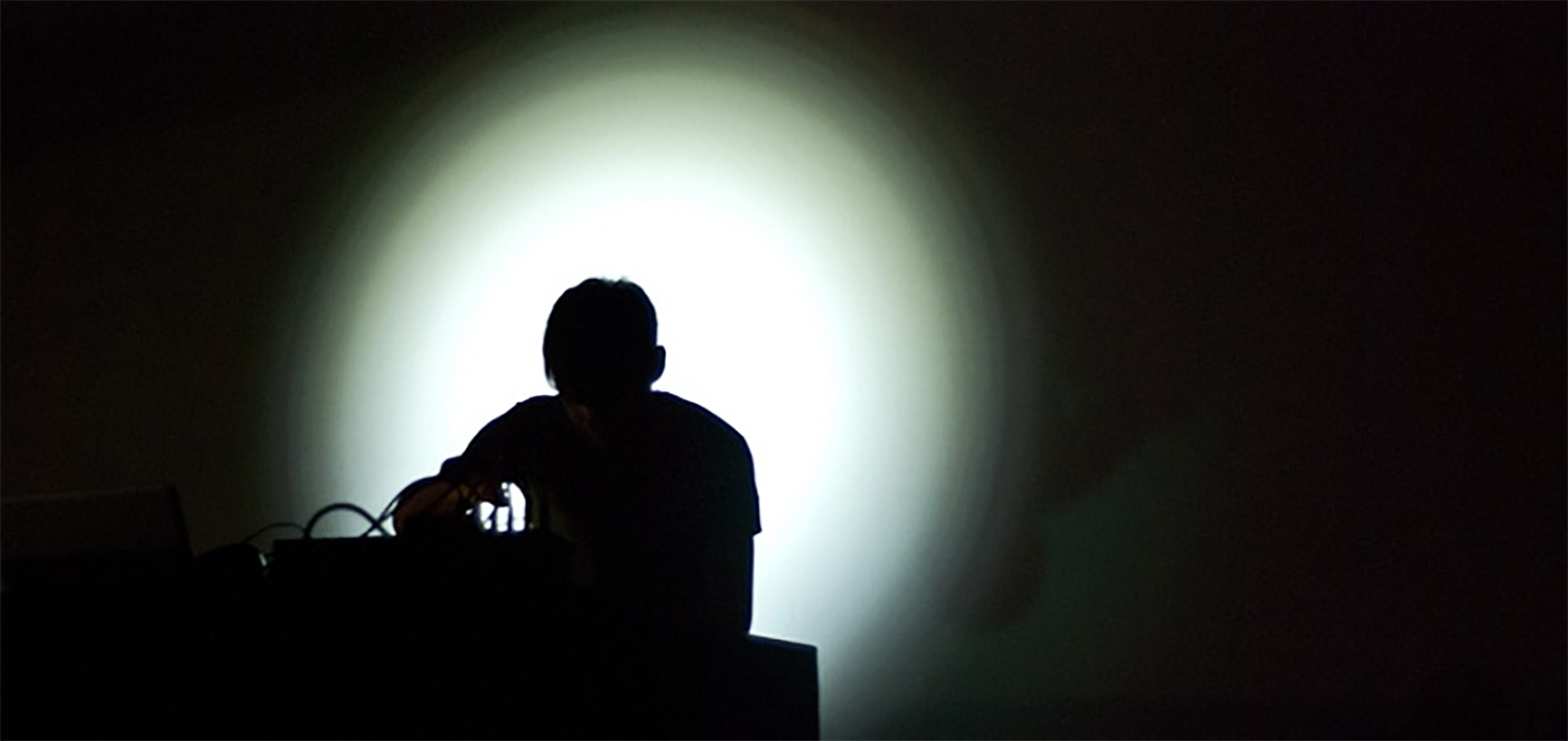 The Tunnel of Noise with Byetone @ Sanna Island : Traenafestival in Norway 2014.jpg