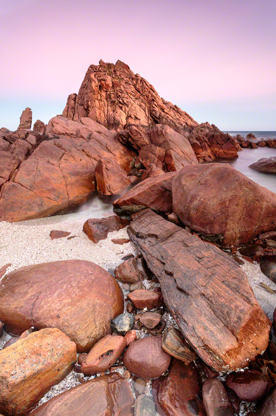 SUGARLOAF ROCK -Canon 5D mkiii, 17-40@ 17mm, f16, 30sec, ISO100