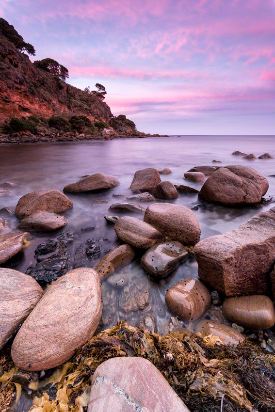 SHELLEY COVE - Canon 5D mkiii, 17-40@ 17mm, f16, 20sec, ISO100