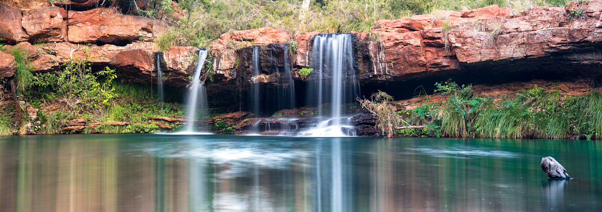 Fern Pool - Canon 5D mkiii, 70-200@ 135, f8, 8sec (stitched panorama)
