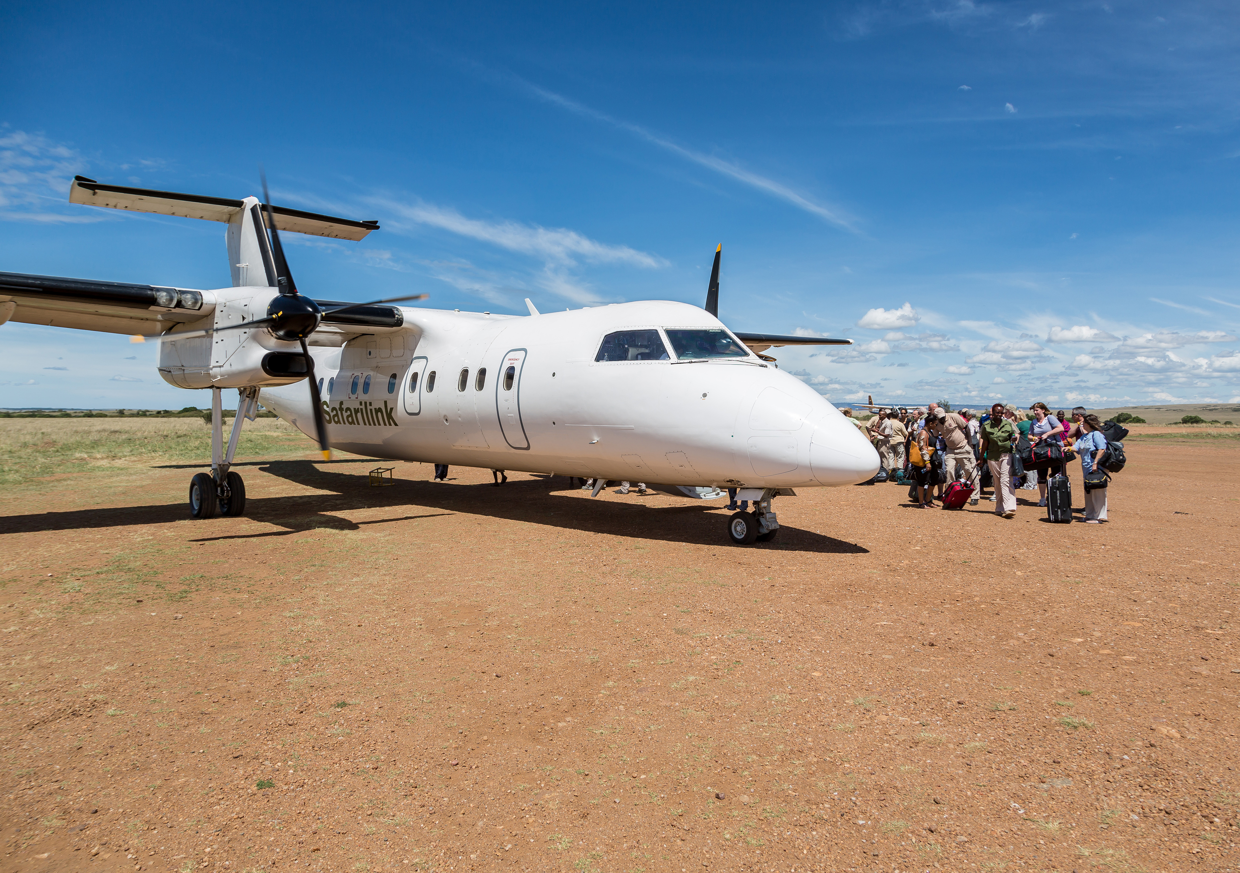 A typical example of Africa's short range air service.