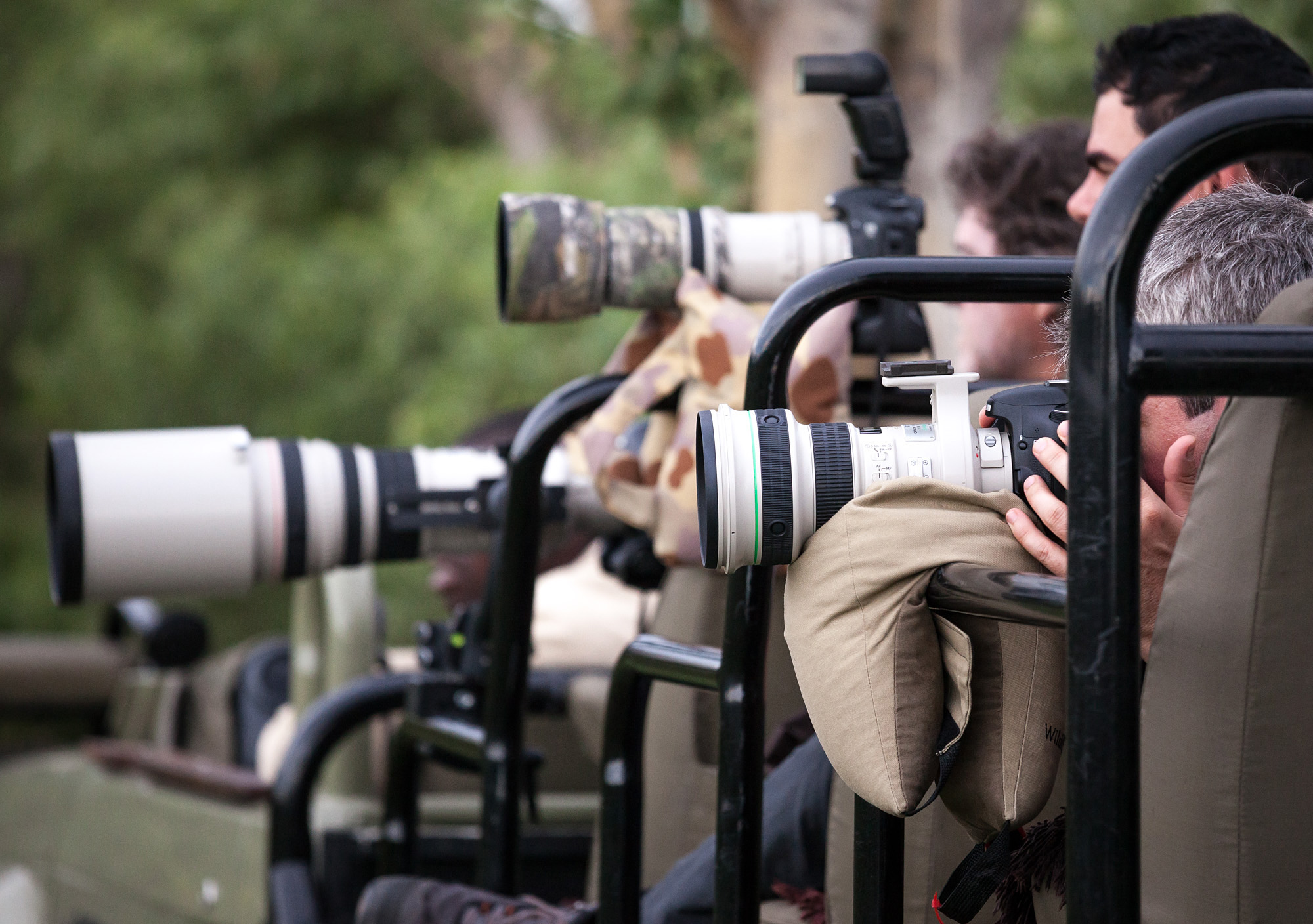 Wildlife shooters coming to Africa love their gear!