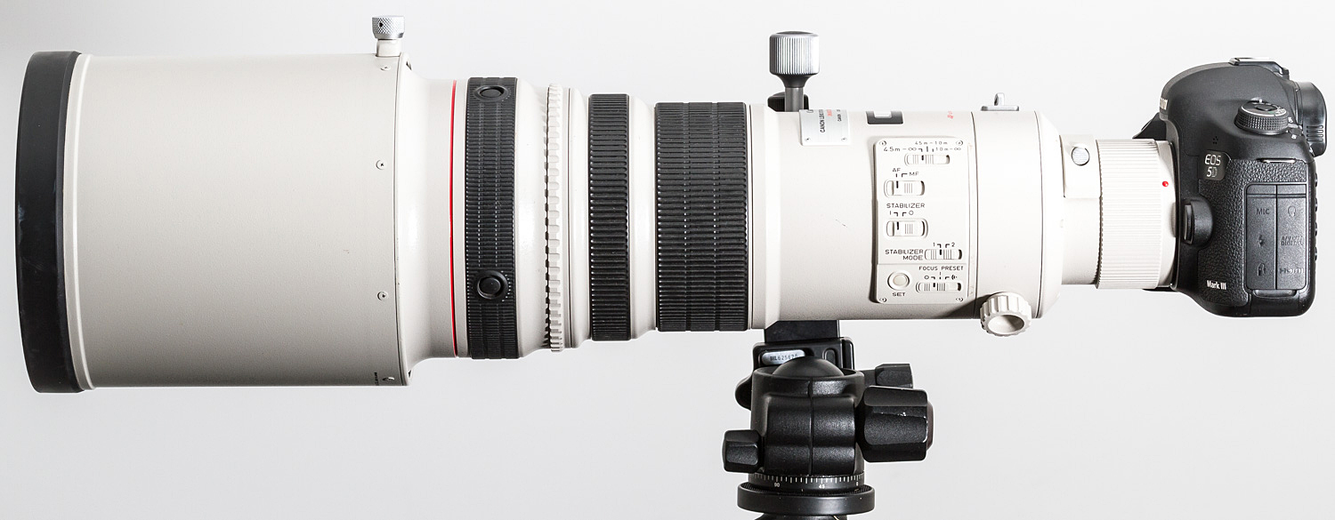 My favourite lens - Canon 500mm.