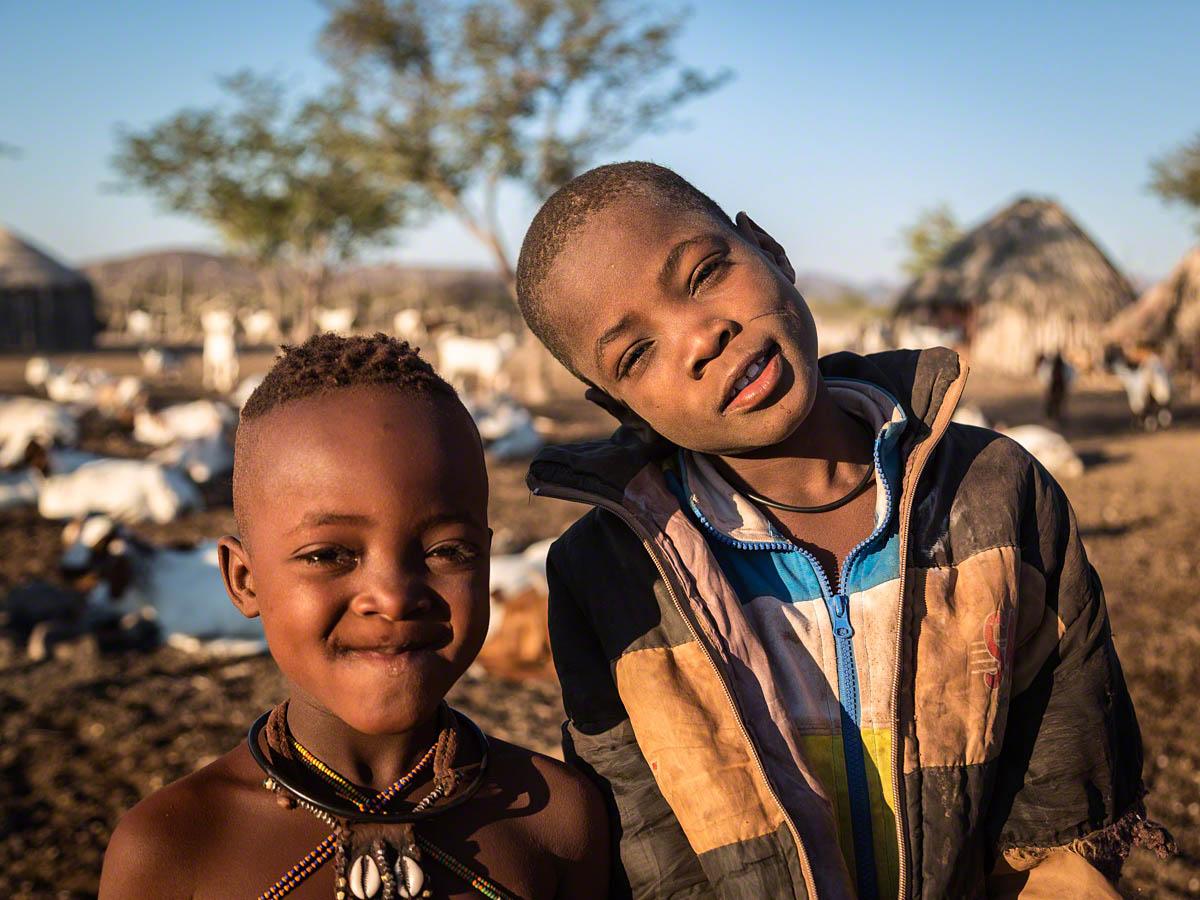 Himba Children - Canon 5D Mark  III, 24-105mm @ 45, f4.0, 1/500 sec, ISO 100