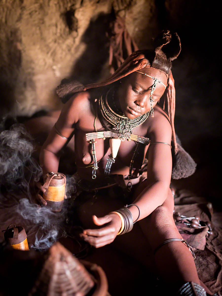 Himba Ritual - Canon 5D Mark  III, 50mm, f2.0, 1/160 sec, ISO 6400