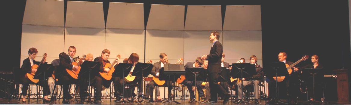 Charleston Southern University Guitar Ensemble
